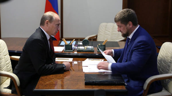 putin kadyrov - government-ru-2